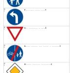 Doplň název dopravní značky I - strana 1
