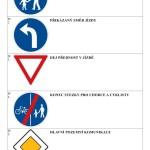 Doplň název dopravní značky I - strana 1 - výsledky