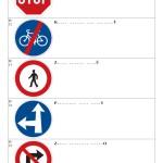 Doplň název dopravní značky I - strana 3