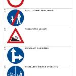 Doplň název dopravní značky I - strana 6 - výsledky