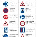 Test dopravní značky I - strana 1